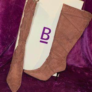 Pink leg boot